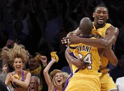 2010 Western Conference Champion Los Angeles Lakers
